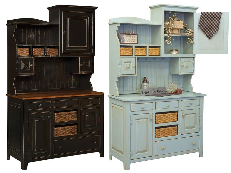 farmhouse decor hutch